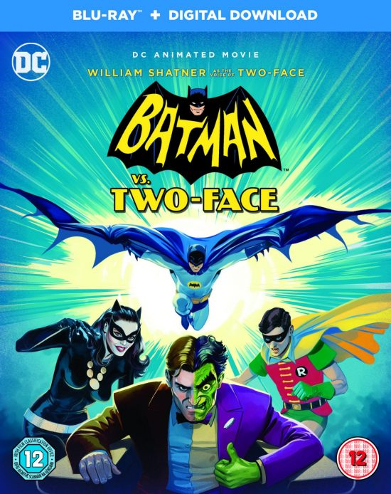 Batman VS Two-Face Blu-ray