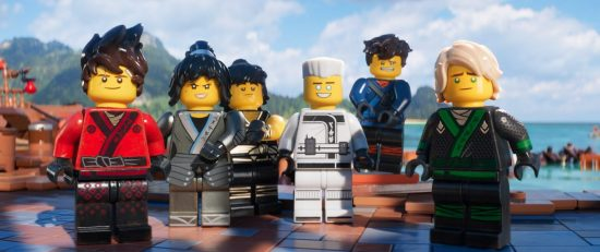 Lloyd and friends (The LEGO Ninjago Movie Still)