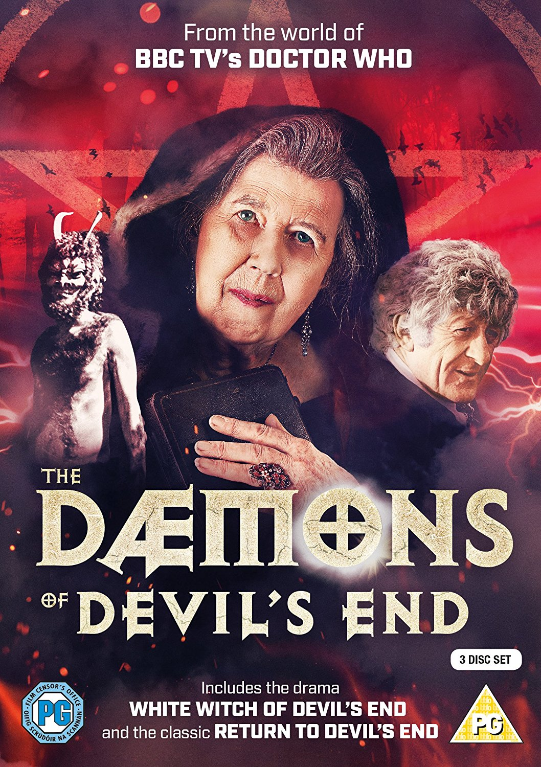 Great news announced for #DoctorWho fans as we have the release date of the new 3 #DVD set of The Daemons of Devil's End