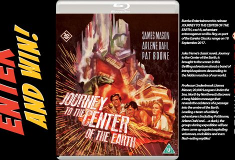 Win JOURNEY TO THE CENTER OF THE EARTH [Eureka Classics] Blu-ray™