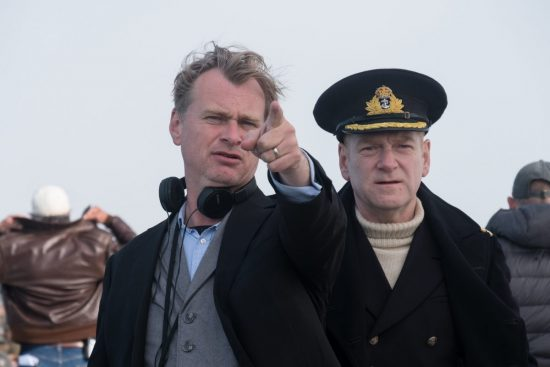 Dunkirk BTS; Director/Producer – CHRISTOPHER NOLAN; KENNETH BRANAGH;