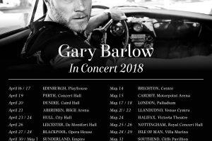 Gary Barlow – New Solo Tour 2018 Announced – Venue Cymru