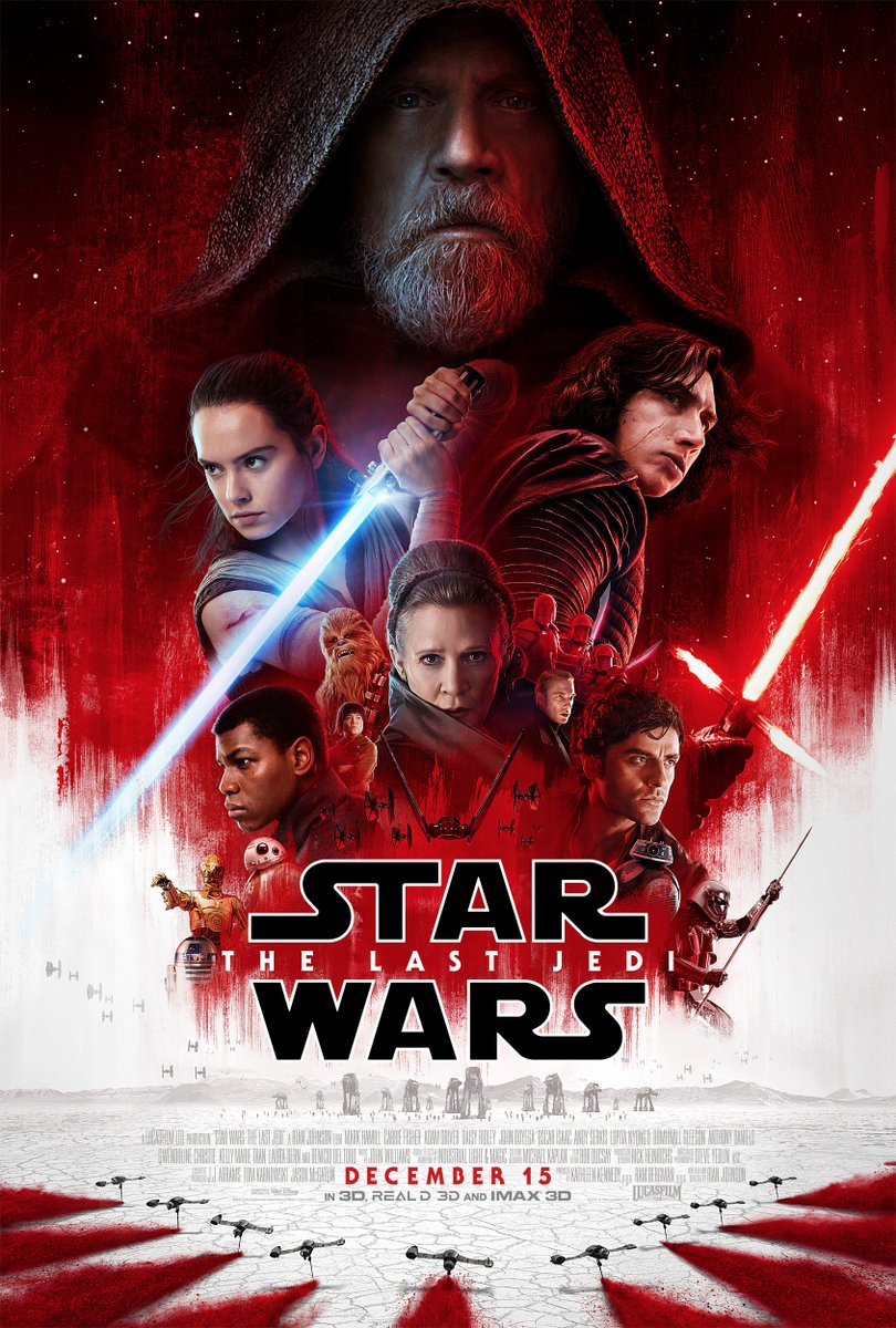 The Trailer for #StarWars #TheLastJedi has been unleashed, now we have to wait until December to see more of the #Porg!!