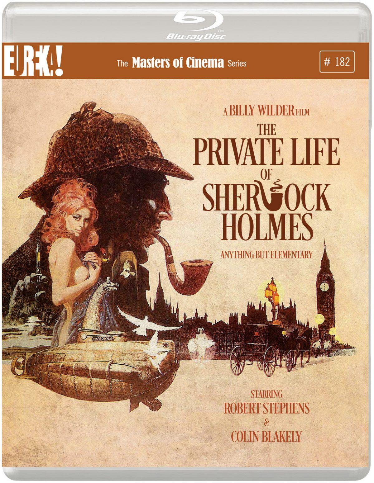 Great news for classic movie fans as Eureka Entertainment announces the release of The Private Life of Sherlock Holmes on Blu-ray.