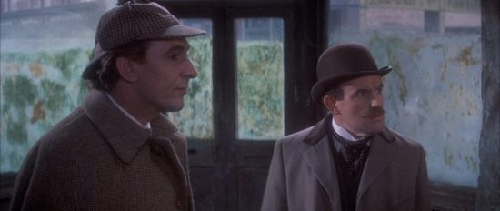 The Private Life of Sherlock Holmes (still - Eureka Entertainment)