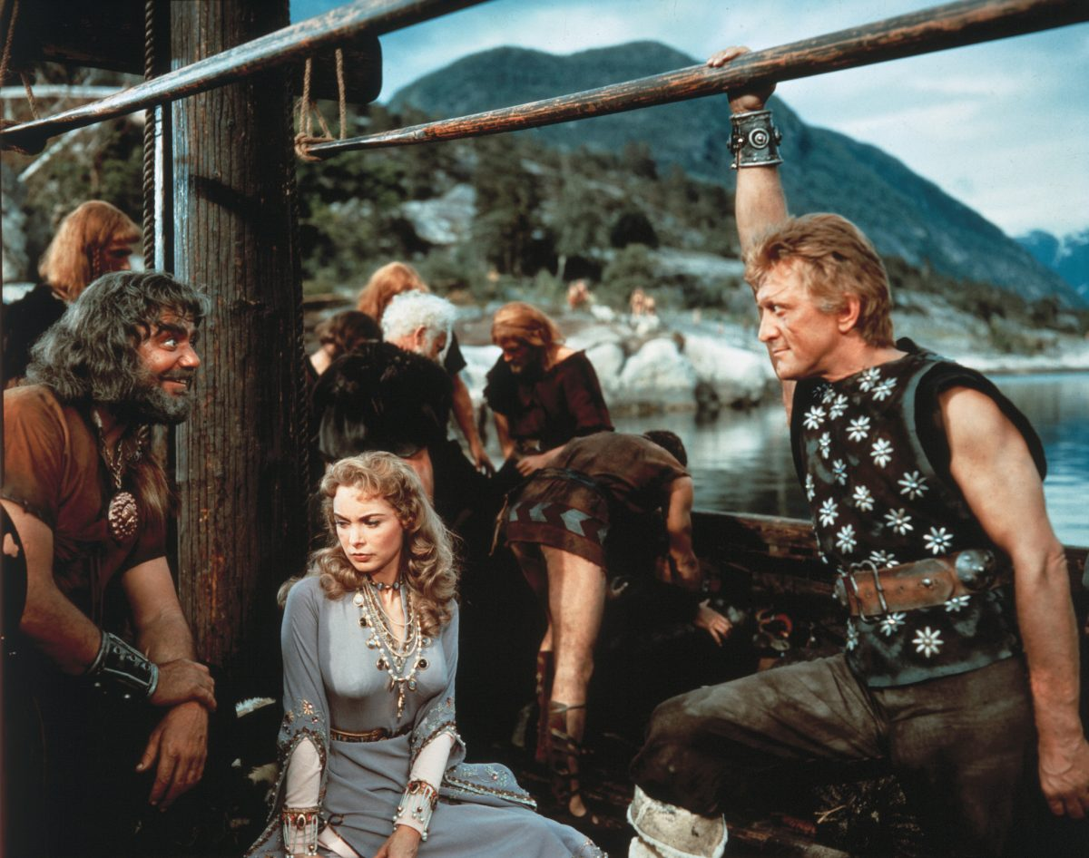 One of the most spectacular and action-packed epics of the fifties, The Vikings wowed audiences worldwide with its stunning visuals and brutal action.