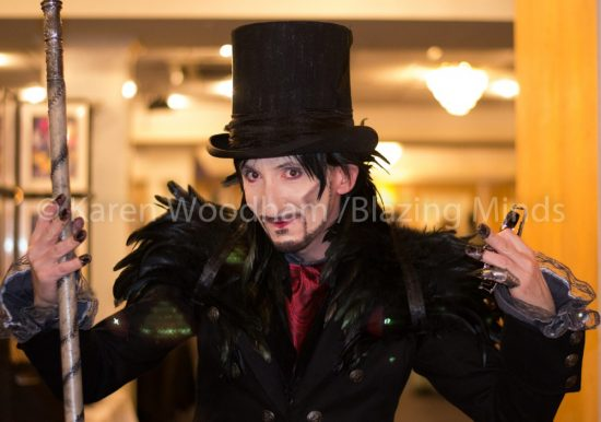 Andy Turner Cosplays as Blood Drive's Julian Slink
