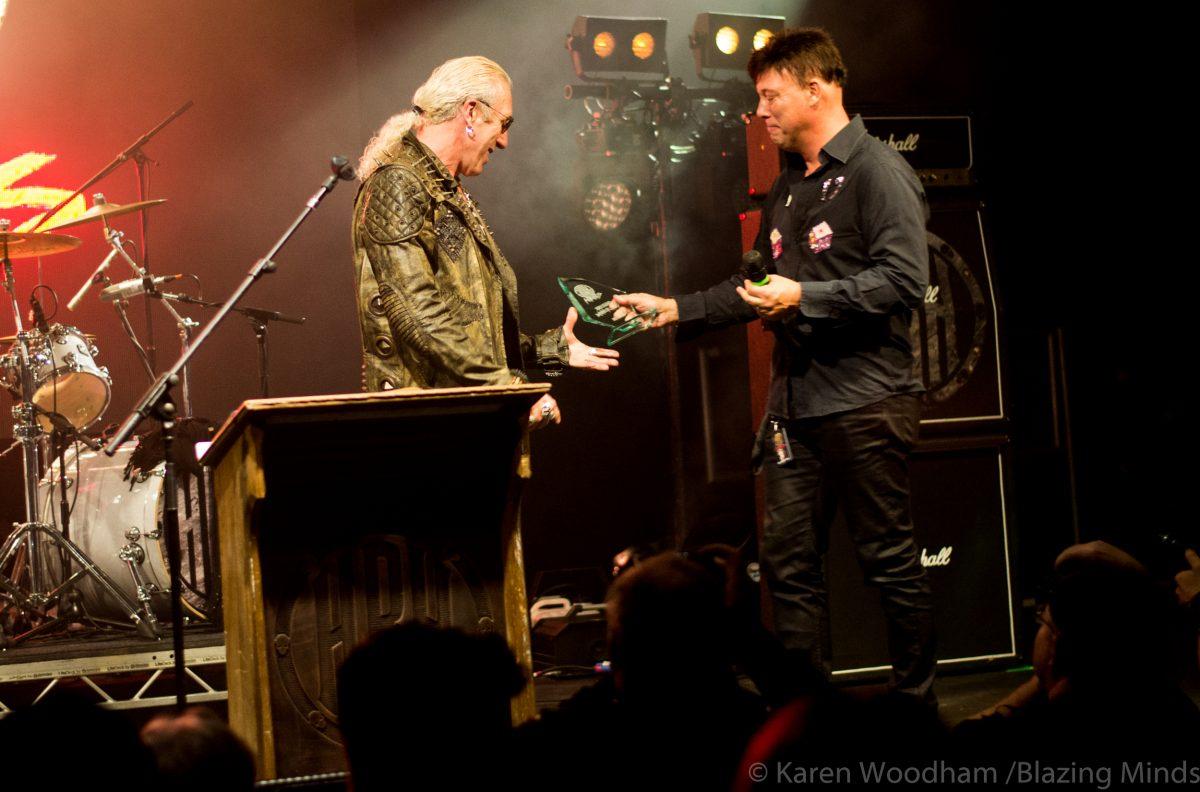 HRH Awards in Pwllheli recognises the world of rock!