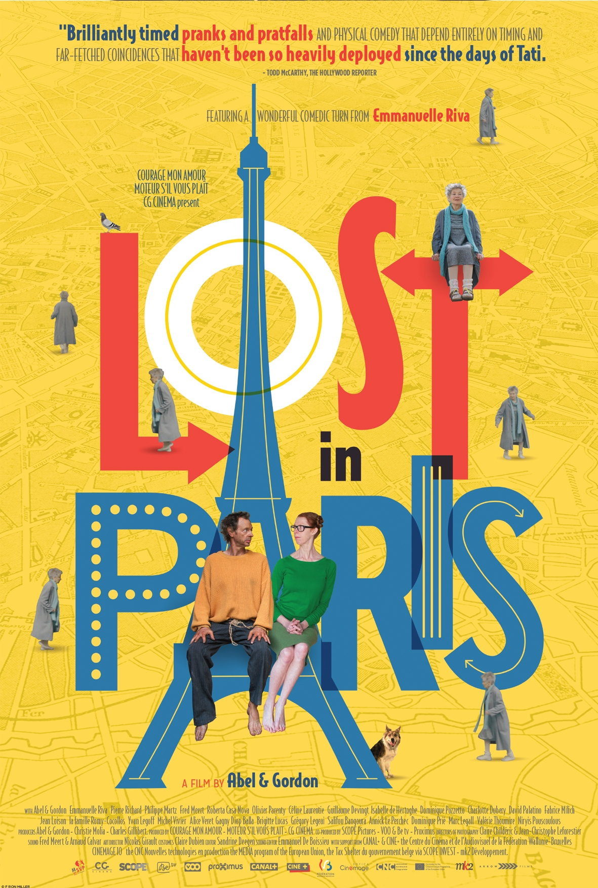#LostInParis is an enjoyable movie that will not only have you laughing at the characters and their hectic life, but it is also a charming movie.