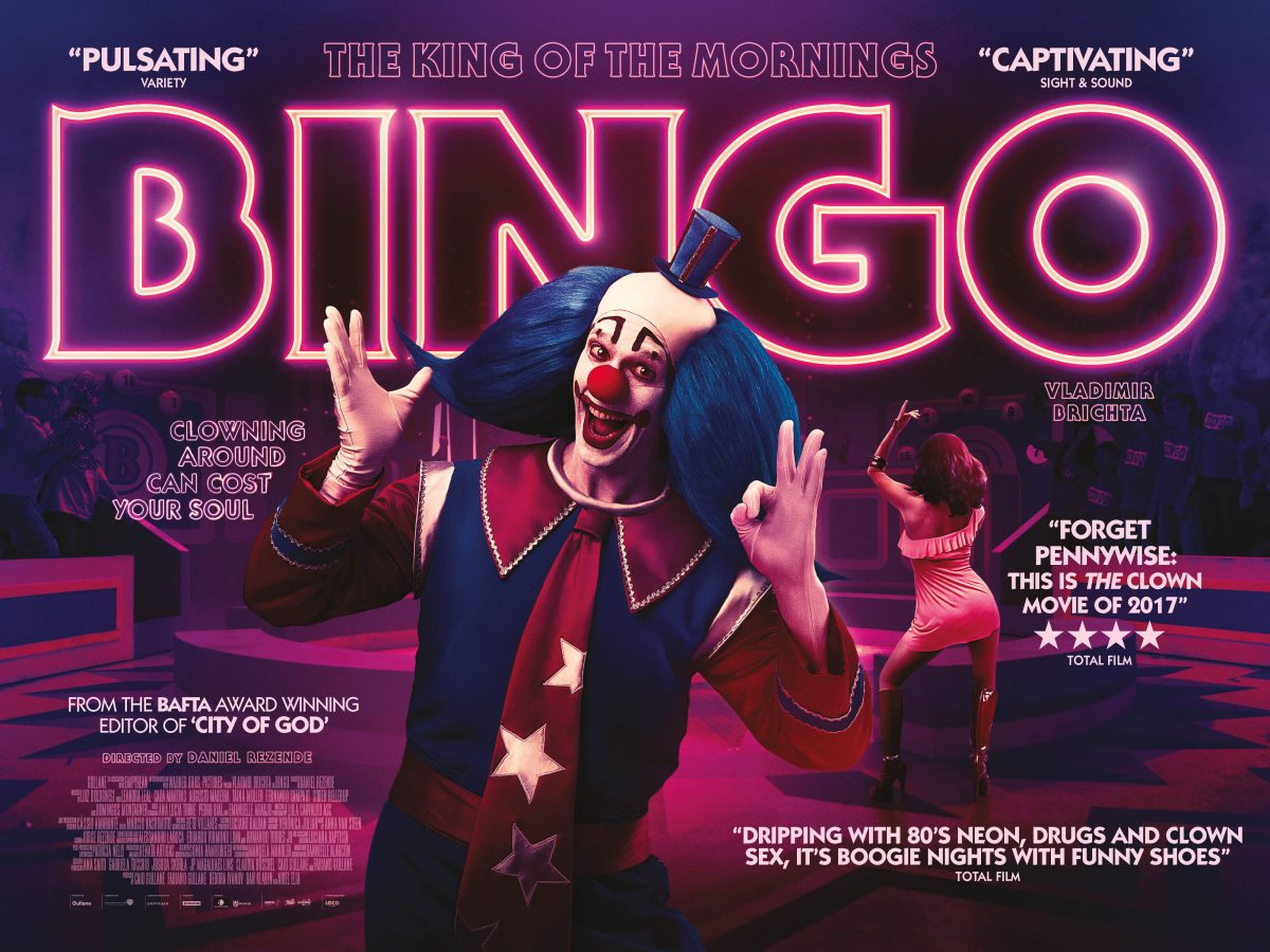 Win 1 of 2 pairs of tickets to the premiere Bingo: King of the Mornings