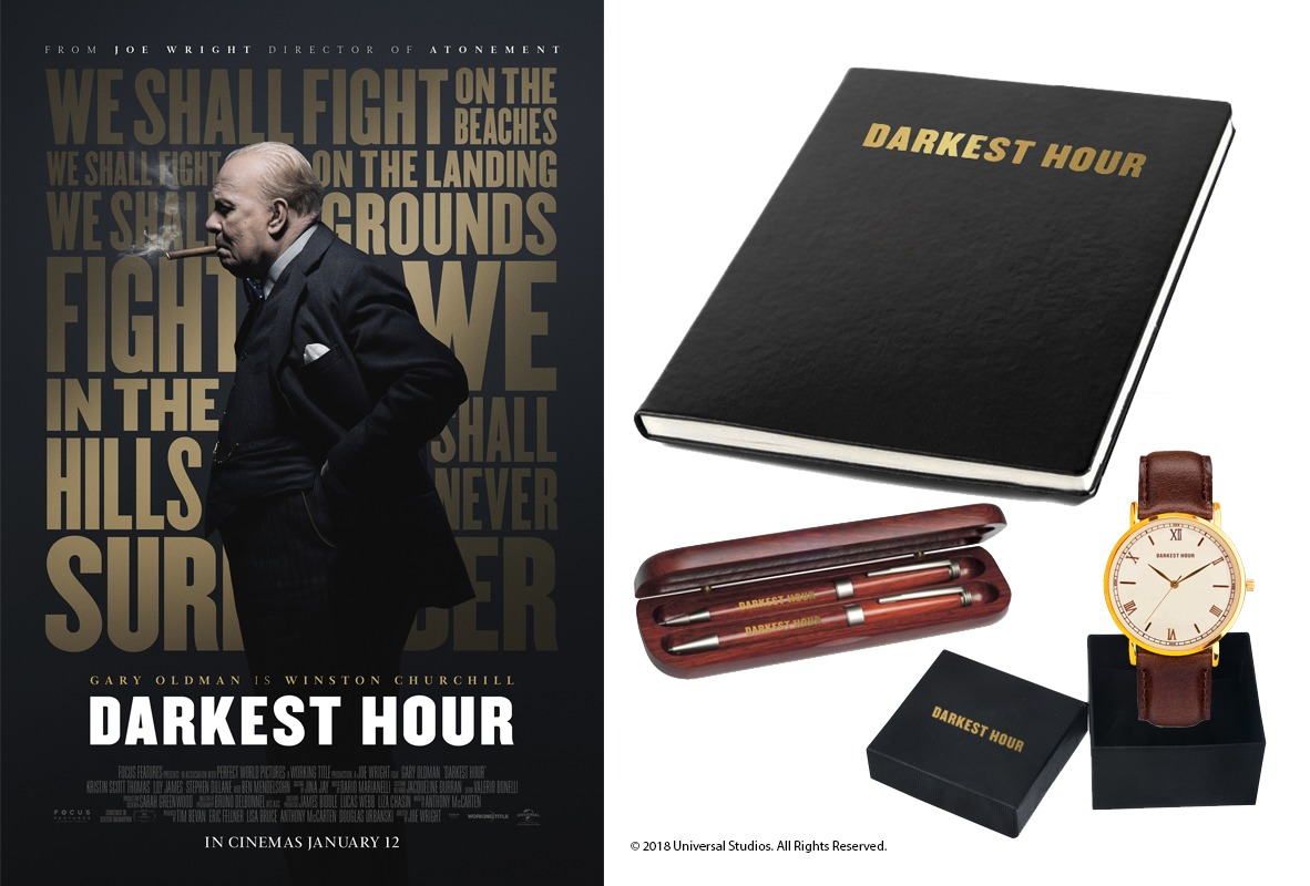 The latest #giveaway on #BlazingMinds gives you the chance to win one of five #DarkestHour packs just in time for the release of the #movie starring #GaryOldman