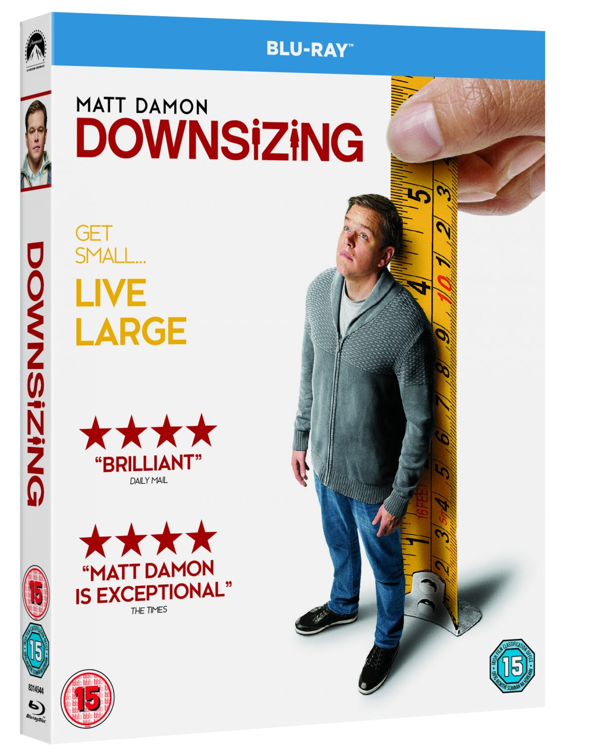 We checked out Downsizing starring Matt Damon, Christoph Waltz and Kristen Wiig, at last night's Cineworld Unlimited Screening in January. Now the movie heads to DVD, Blu-ray and Digital.
