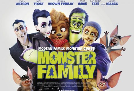 Monster Family Brand New Trailer and Family Poster