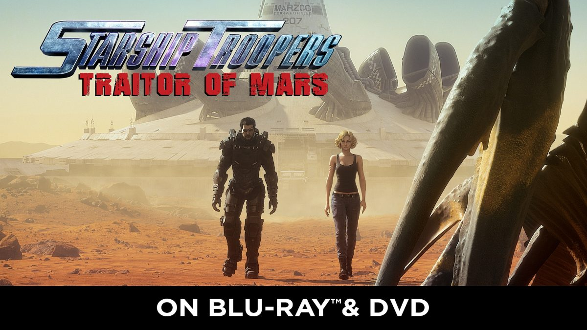 Movie Review: Starship Troopers: Traitor of Mars – Blu-ray