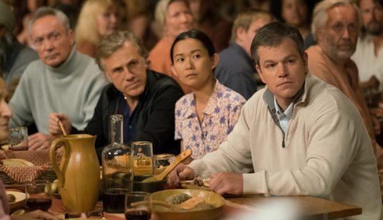 Downsizing (Udo Kier, Christoph Waltz, Hong Chau, Matt Damon)