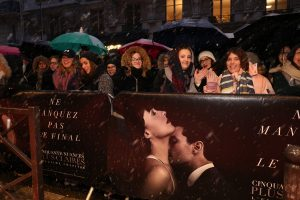 Fifty Shades Freed Whipped the Crowds into a Frenzy at Paris Premiere