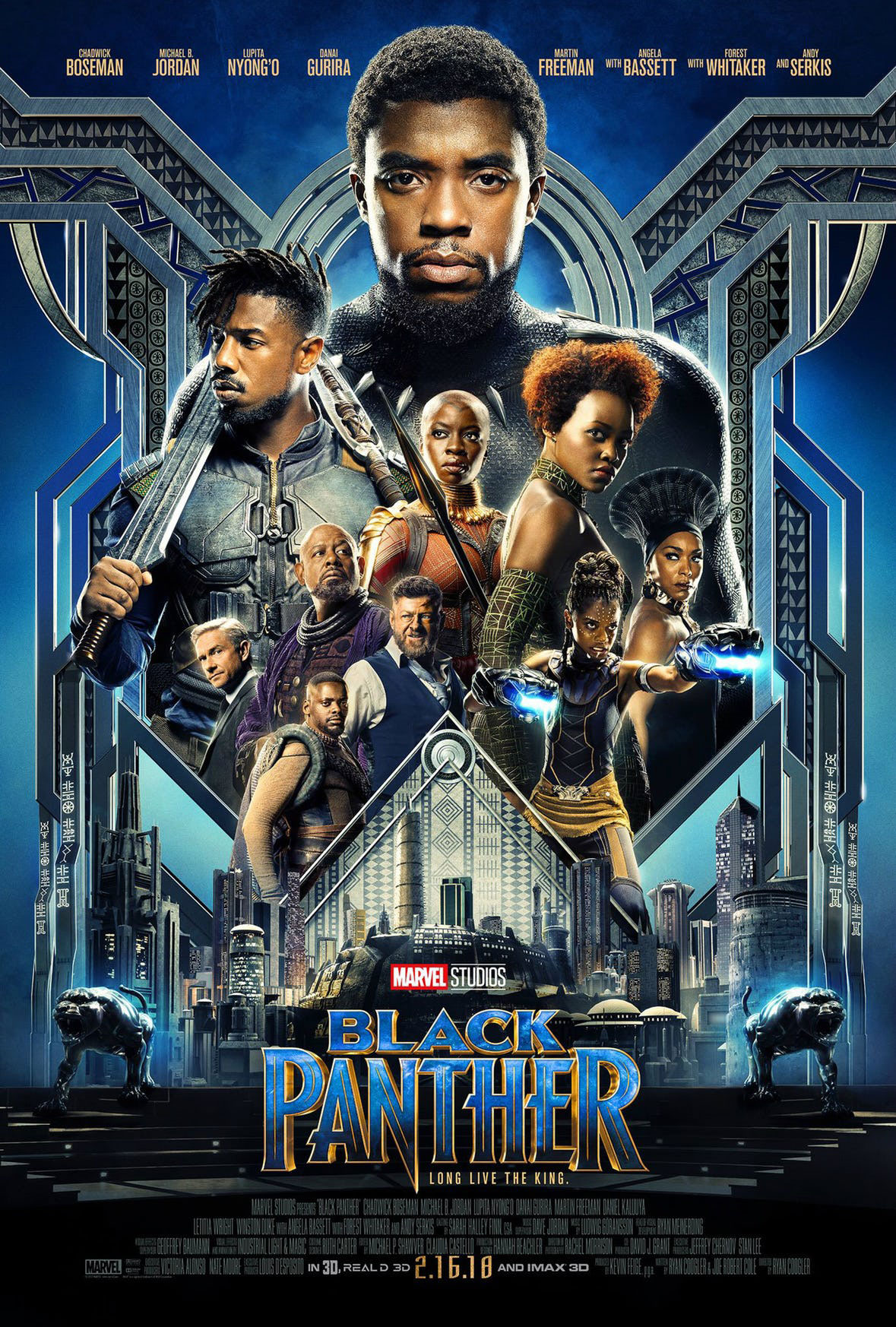We checked out the latest Marvel movie in RealD 3D, check out our review of the movie starring Chadwick Boseman as Black Panther