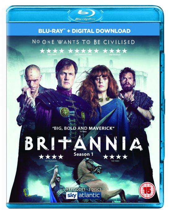 Britannia Blu-ray