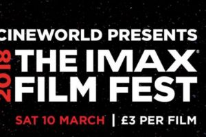 The IMAX Film Fest is Returning to a Cineworld Near You