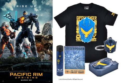 Win 1 of 3 Pacific Rim Uprising Prize Packs