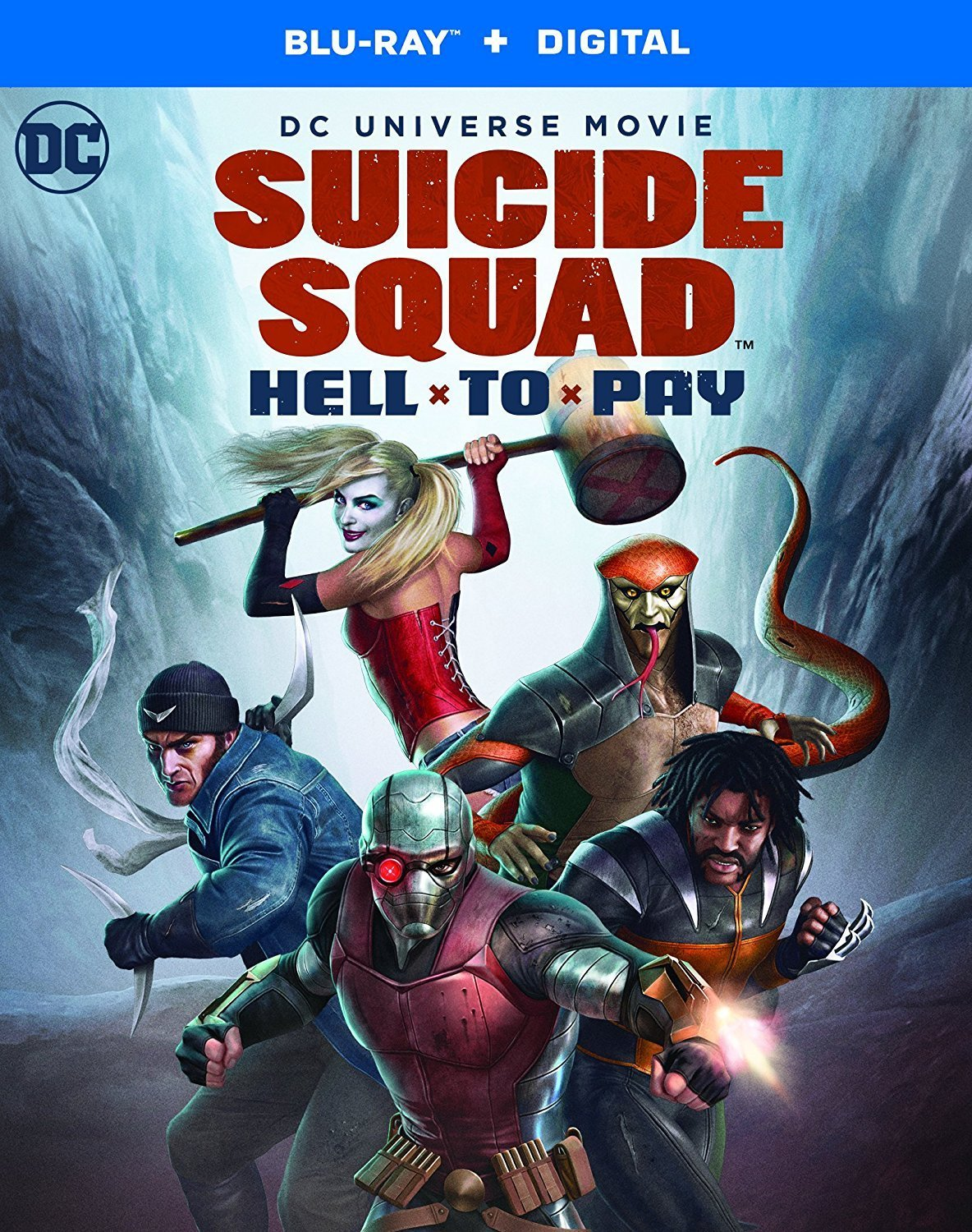 Those that read Blazing Minds will have seen the many DC Universe Movies and Warner Bros. Animation movies, such as Gotham by Gaslight, Batman Vs. Two-Face and Batman and Harley Quinn that we have reviewed, now we have news of the release dates for Suicide Squad: Hell To Pay.