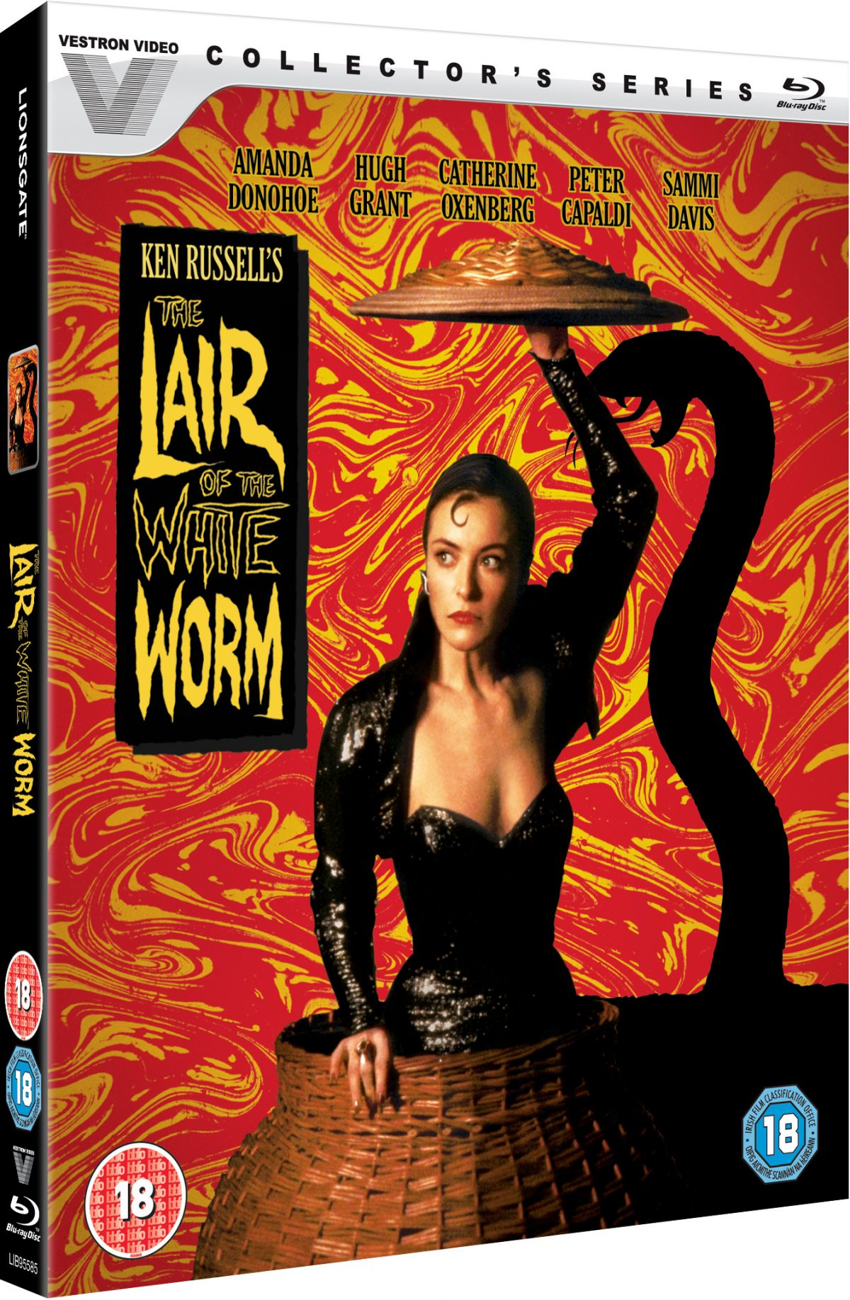 Welcome to the bizarre world of The Lair of the White Worm and Ken Russell who is known for his flamboyant and controversial style filmmaking and this 1988 movie is no exception, includingits moments of sexualitythat is pure Russell.