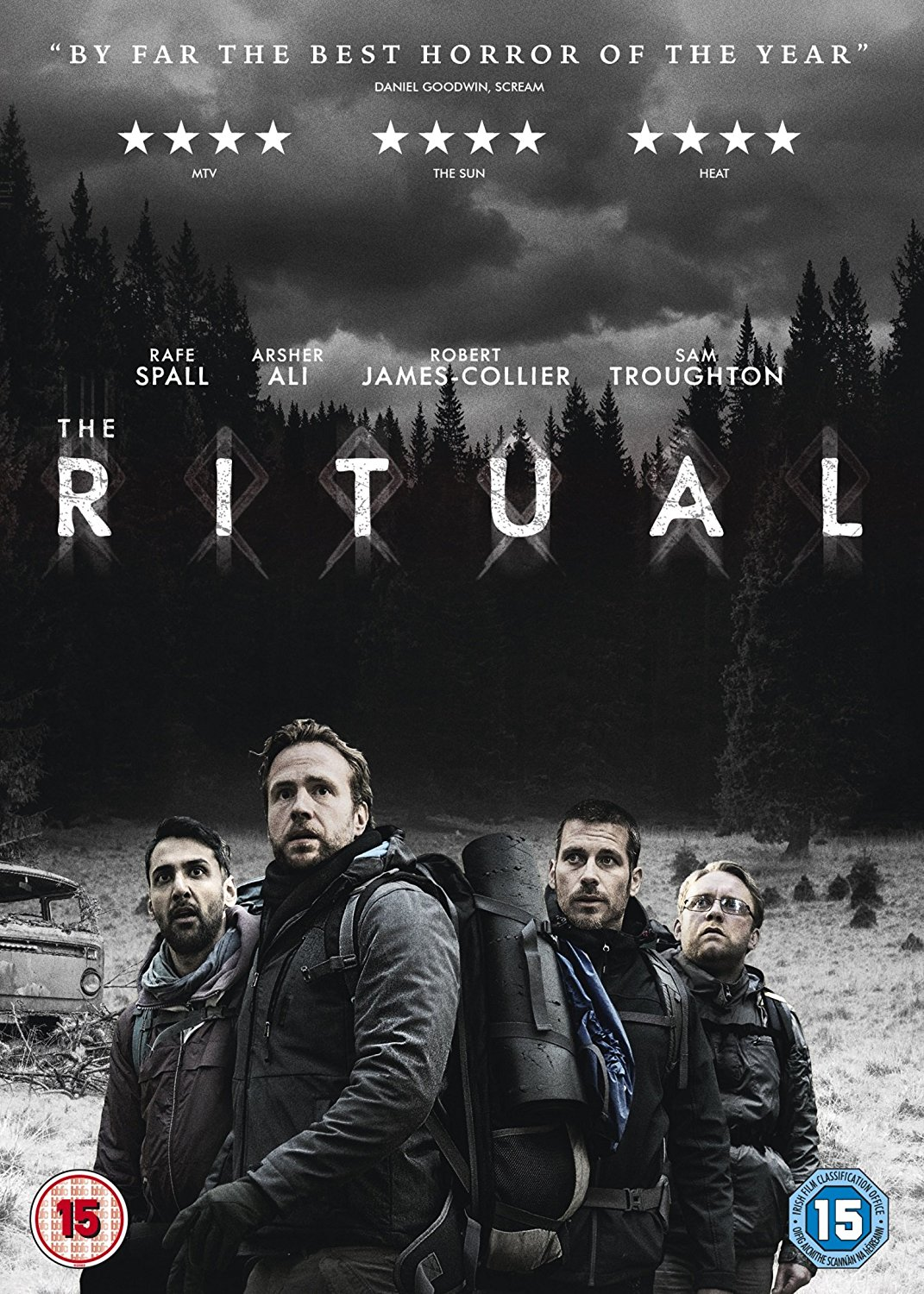 The Ritual is one of the best horrors that I've seen this year, it is a movie that really plays on your mind and senses to shock you, the movie is available on Digital Download now and DVD from 12th February 2018.