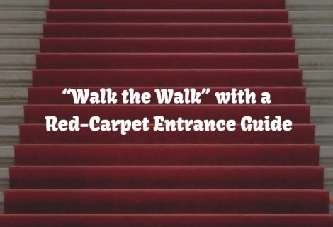 "Hollywood A-Listers Taught how to ""Walk the Walk"" with Red-Carpet Entrance Guide"