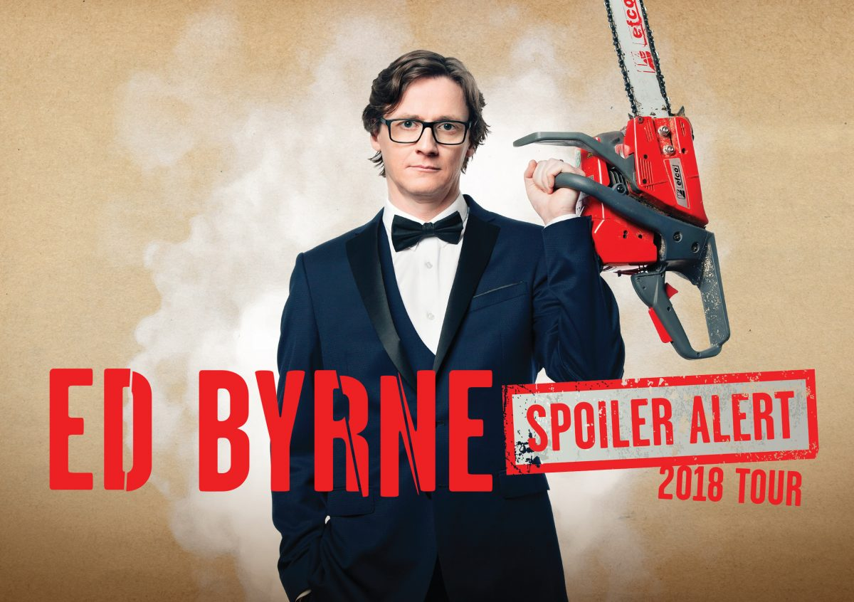 Interview with Ed Byrne by Brian Donaldson – Spoiler Alert at St David's Hall, Cardiff
