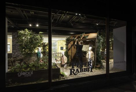 Harrods celebrates the mischievous world of Peter Rabbit ™