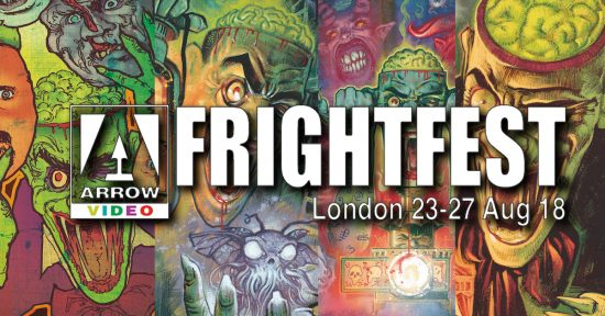 Arrow and FrightFest 2018 Header