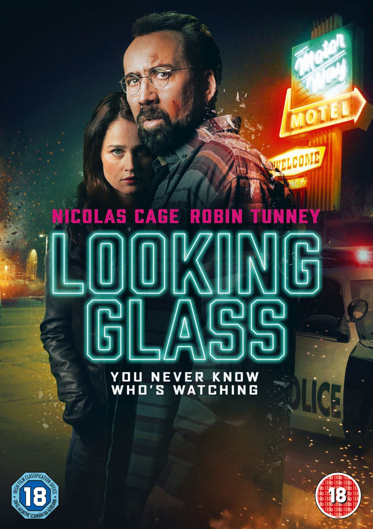 Looking Glass is a new thriller from Tim Hunter (River's Edge) also a noted television director known for Gotham, American Horror Story and classic era Twin Peaks.