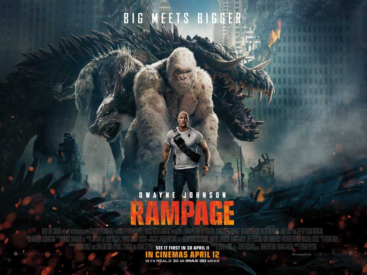 RAMPAGE (2018)   Dwayne Johnson