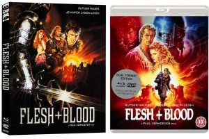Paul Verhoeven's Flesh + Blood Slashes its Way to Dual-Format