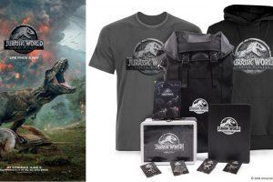 Win 1 of 3 Jurassic World: Fallen Kingdom Official Merchandise Packs