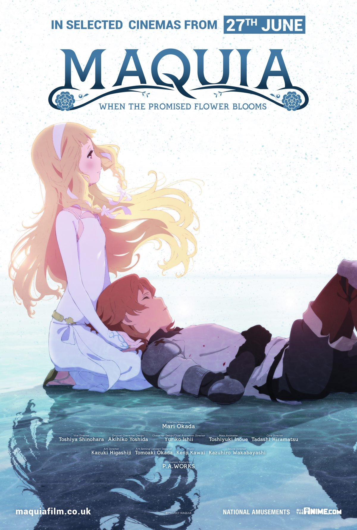 Mari Okada's directorial debut, Maquia: When the Promised Flower Blooms, gets a new poster and trailer released