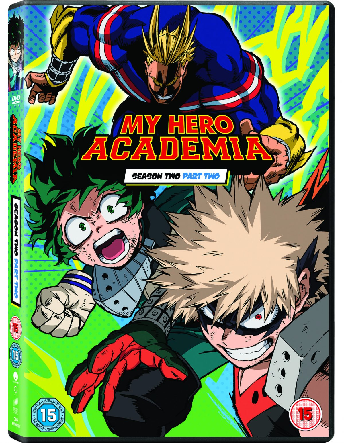 Blazing Minds and Fetch Dynamic LTD to bring you the chance to win a DVD of My Hero Academia Season 2, Part 2 On DVD and Blu-ray™ June 11.