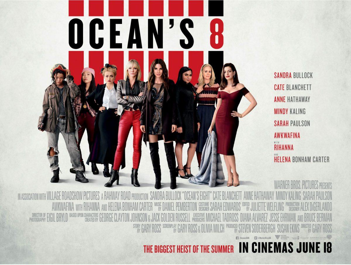 Win an Ocean's 8 Official Merchandise Prize Pack