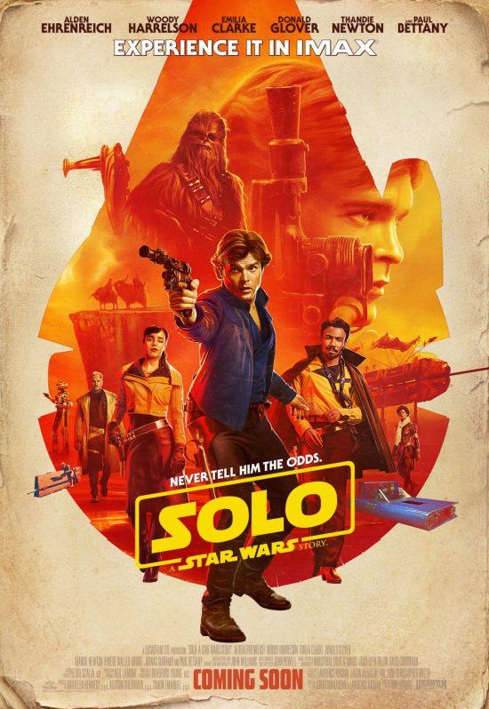 SOLO 0 IMAX Poster News