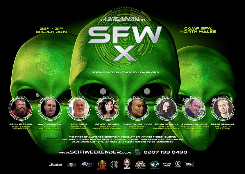 Sci-Fi Weekender heads to a new venue for SFW-X 2019