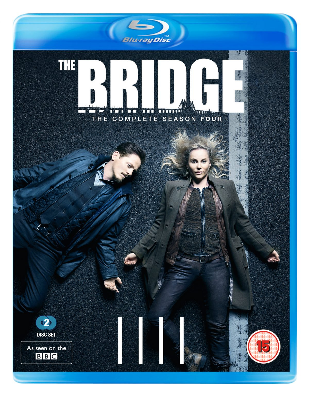 DVD & Blu-ray release of the final season of the BAFTA-winning crime drama The Bridge. The complete Season 4 and the Nordic Noir Classics Seasons 1-4 collection