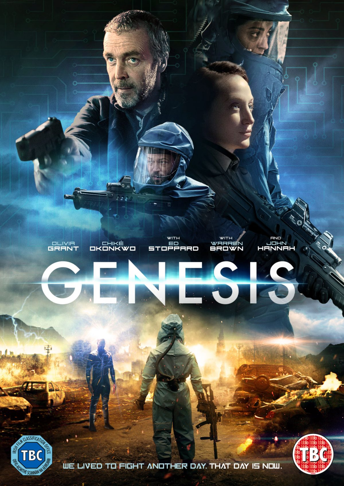 Are you ready for a chance to win a DVD of the stellar British sci-fi adventure Genesis, as Man battles Machine in a desperate future?