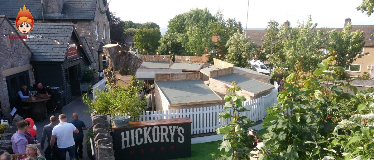 Hickory's Smokehouse Rhos on Sea Gets an Outside Revamp