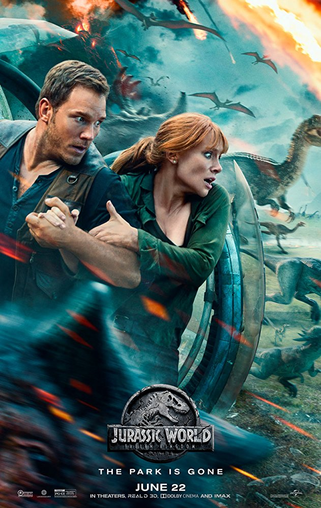 #ChrisPratt #BryceDallasHoward and #JeffGoldblum return to the big screen for #JurassicWorld: #FallenKingdom, check out the review on #BlazingMinds of the latest movie