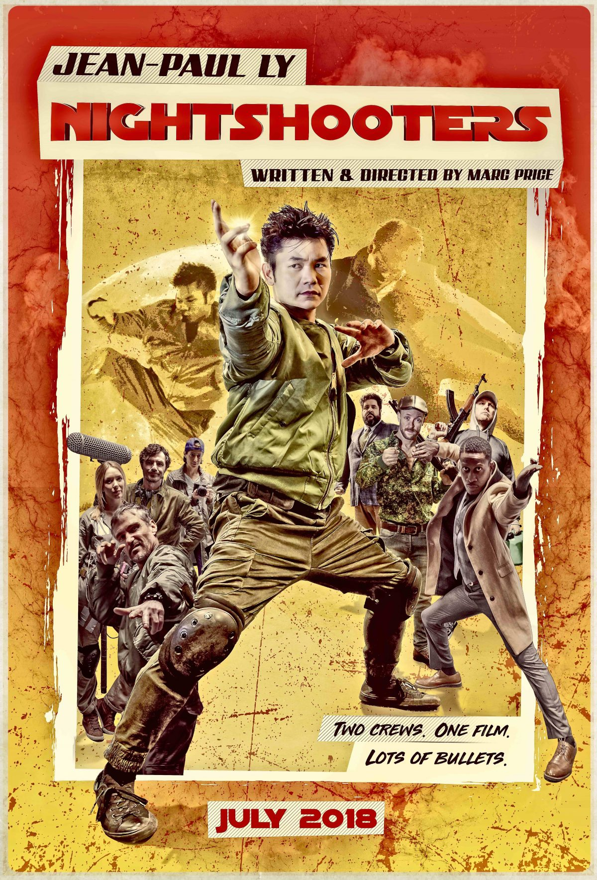 Check out the new Red Band Trailer for #Nightshooters starring Jean-Paul Ly. In select UK cinemas and On Demand 27th July 2018