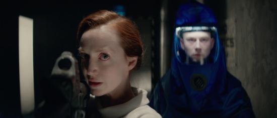 Olivia Grant and Liam Ainsworth in Genesis (Lionsgate UK)