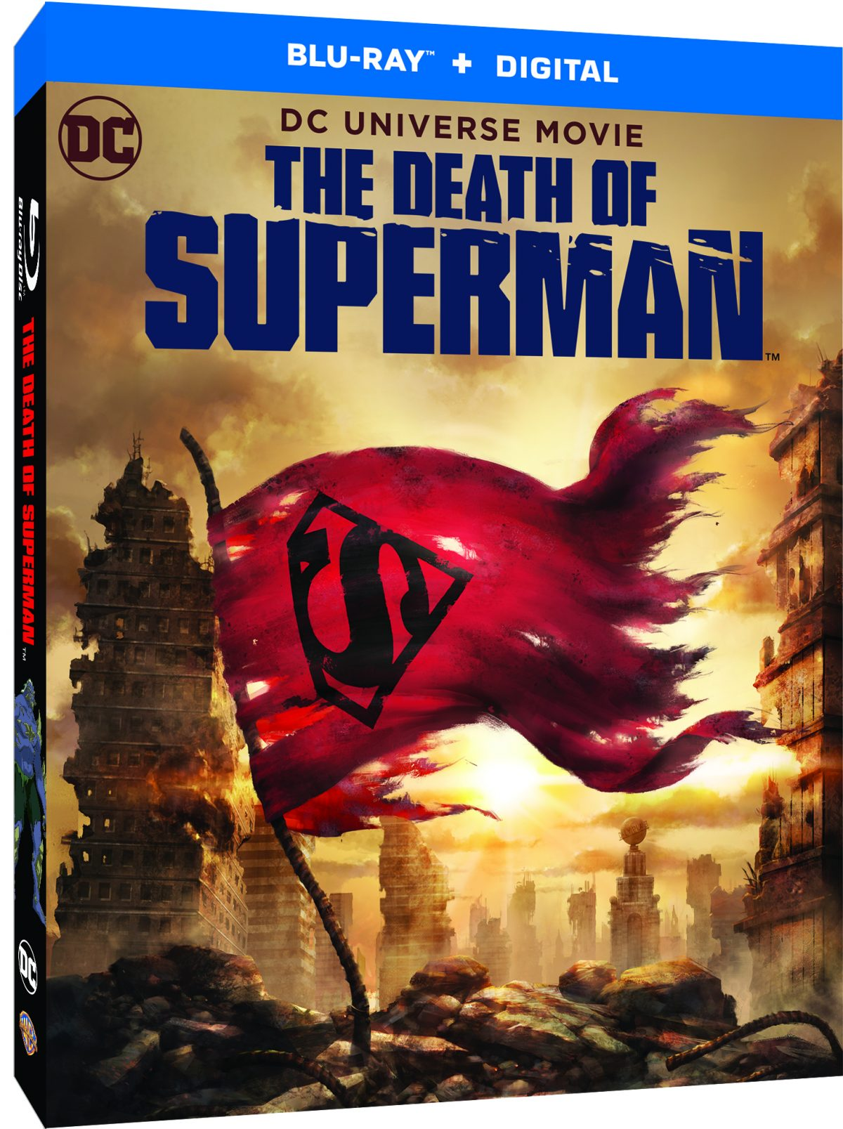 #EnterToWin The Death of #Superman on DVD - Out now on Digital Download Out on Blu-ray™ and DVD 6 August http://po.st/nODqii  Ends 17 Aug 2018, 23:59.