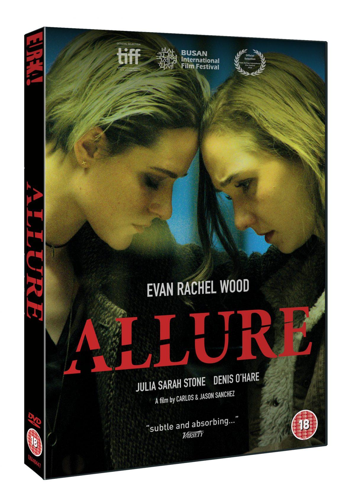 Win Allure starring #EvanRachelWood on DVD courtesy of #BlazingMinds and #EurekaEntertainment