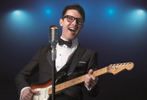 Oh Boy! Buddy Holly and the Cricketers are heading to the Rhyl Pavilion
