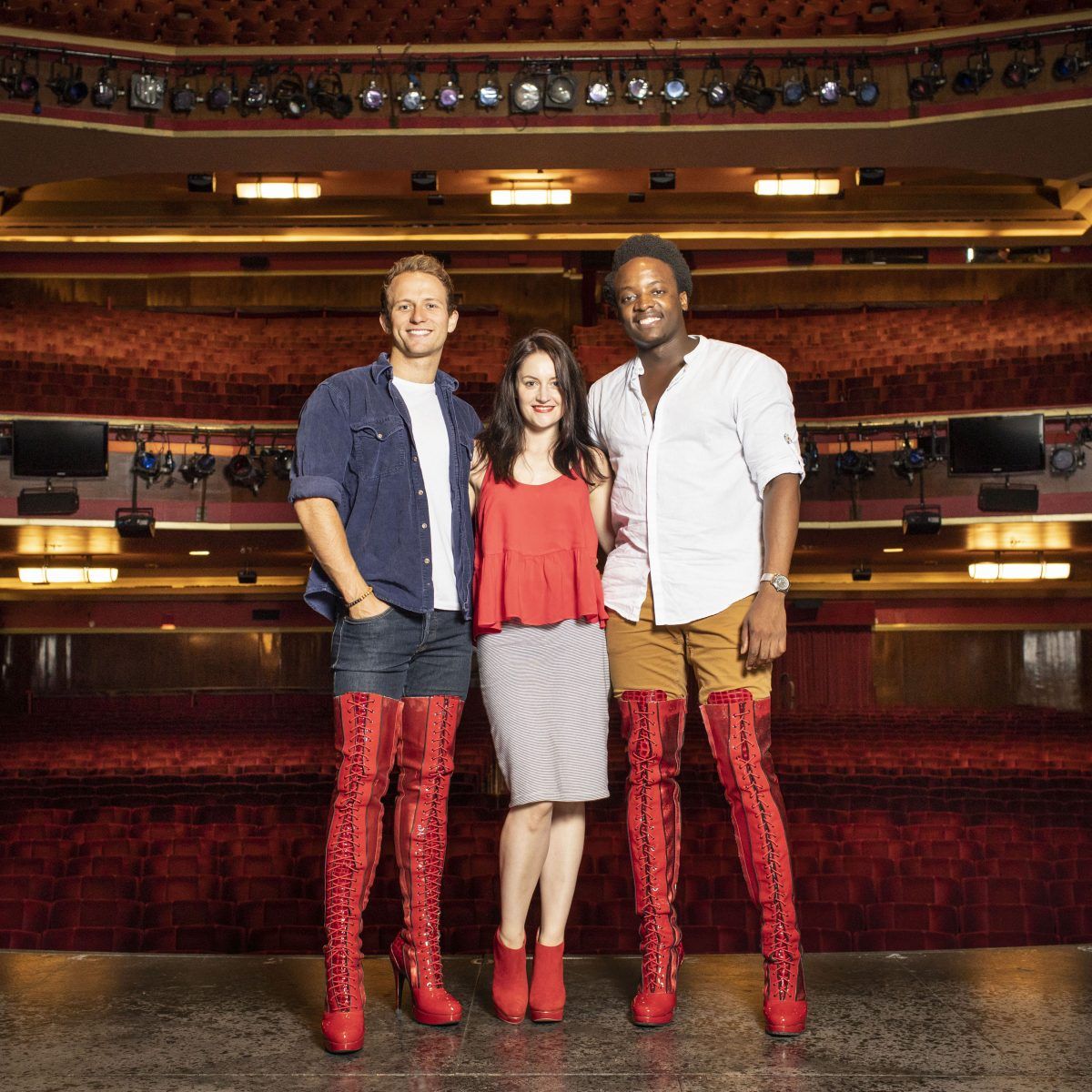 The multi award-winning show, #KinkyBoots, announces the cast for the #UK #tour and sets a date for shows at #VenueCymru, #Llandudno #NorthWales